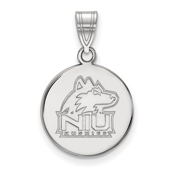 Sterling Silver Northern Illinois University NCAA Pendant