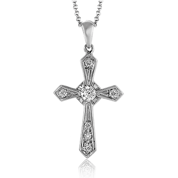 ZP372 CROSS PENDANT