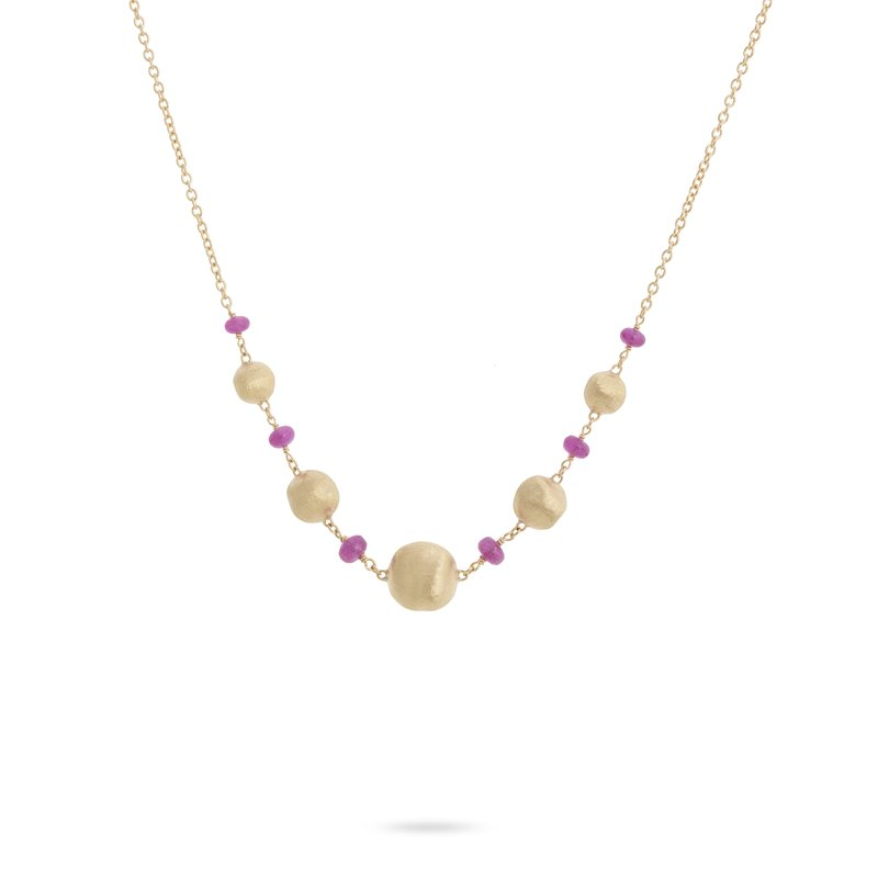 Marco Bicego Africa Ruby Long Necklace