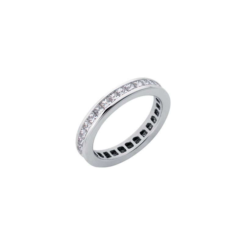 S. Kashi & Sons Bridal Princes Cut Eternity Band