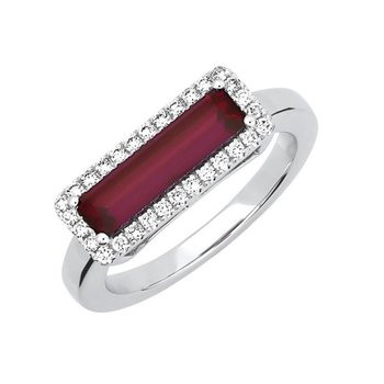 Ruby Ring-CR13127WRU