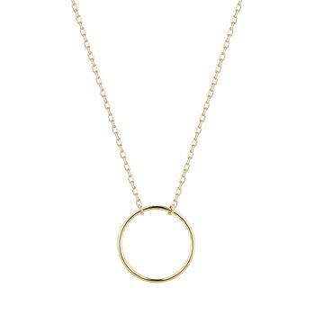ADA | Open Circle Necklace