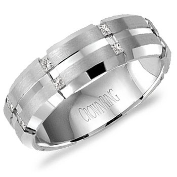 CrownRing Men's Wedding Band WB-7092