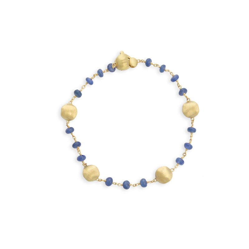 Marco Bicego Africa Sapphire Single Strand Bracelet