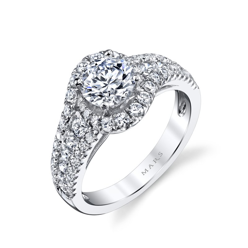 MARS Jewelry - Engagement Ring 25651