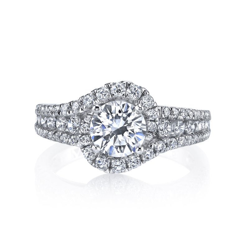 MARS Jewelry Diamond Engagement Ring 0.89 ctw