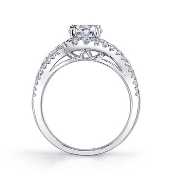 Diamond Engagement Ring 0.89 ctw