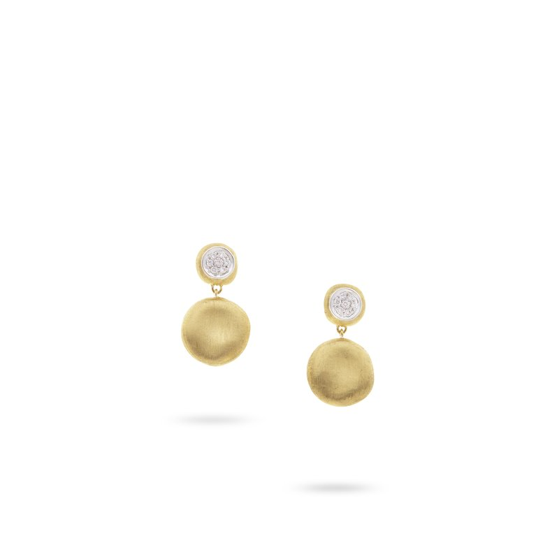 Marco Bicego Jaipur Diamond Small Drop Earrings