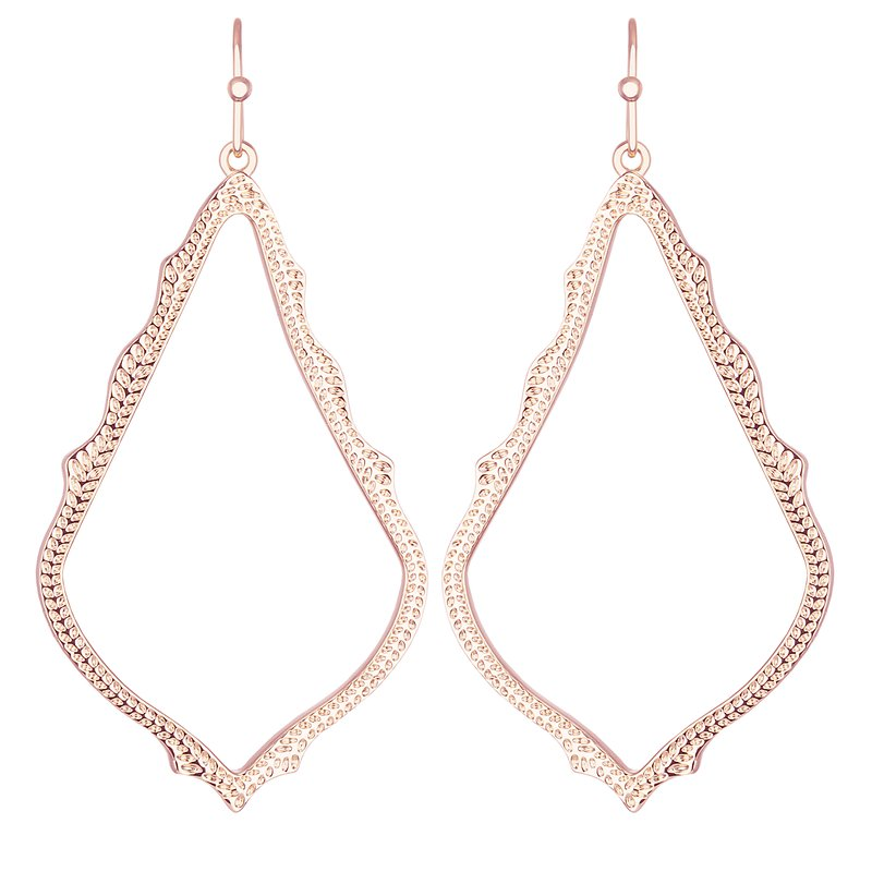 Kendra Scott Sophee Drop Earrings In Rose