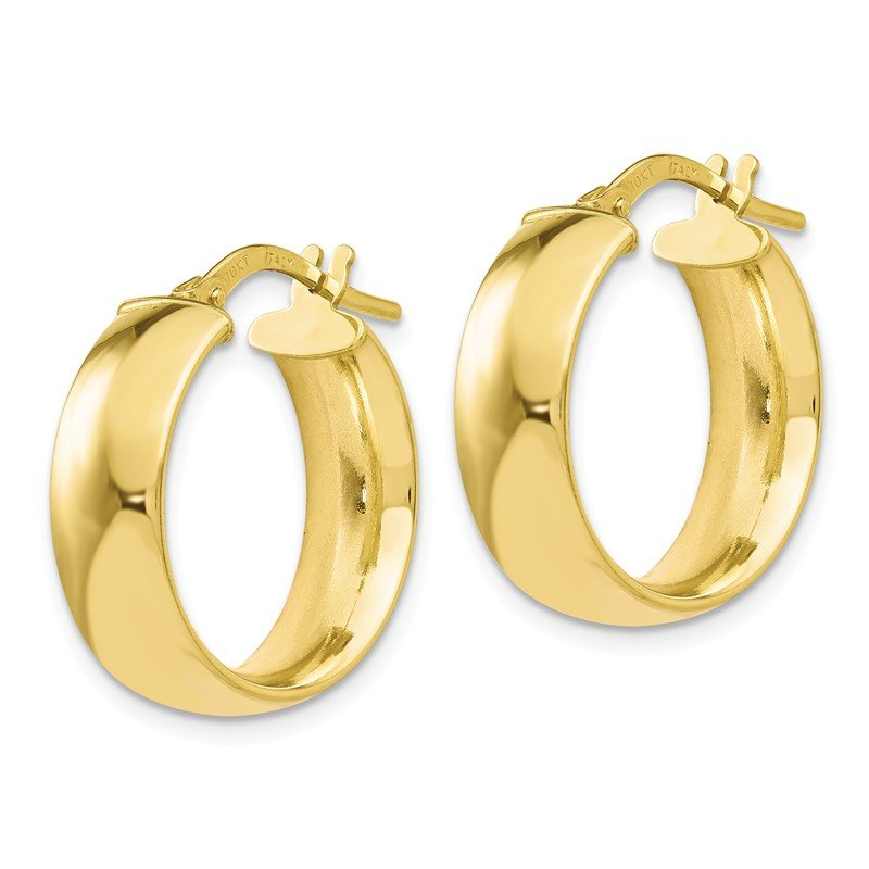 Leslie's Leslie's 10K Gold Polished Hoop Earrings