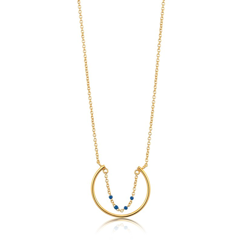 Ania Haie Dotted Circle Necklace