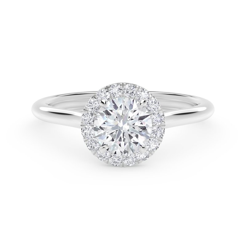 Forevermark Engagement and Commitment Center of My Universe® Round Halo Engagement Ring