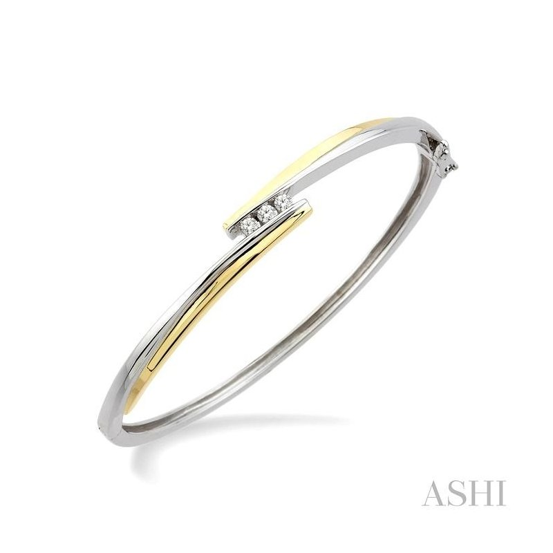 ASHI diamond bangle