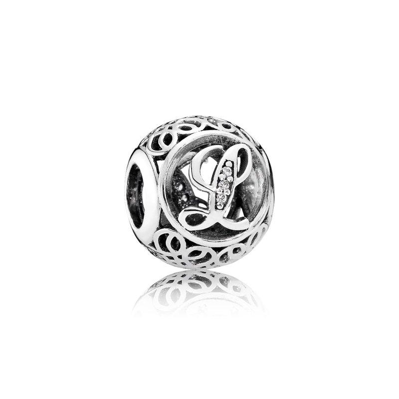 49104060c Saxon's Diamond Centers: PANDORA Vintage L, Clear Cz