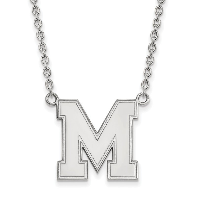 NCAA Sterling Silver University of Memphis NCAA Necklace
