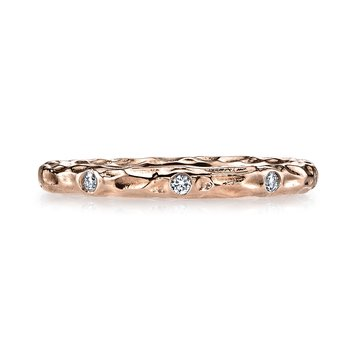MARS 25681RG Stackable Ring, 0.13 Ctw.