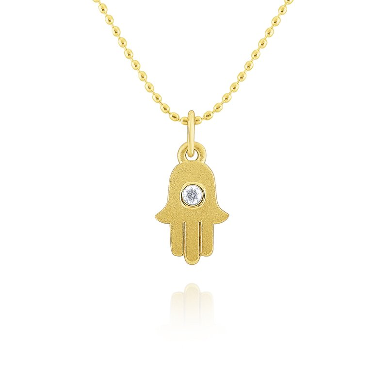 KC Designs 14k Gold and Diamond Hamsa