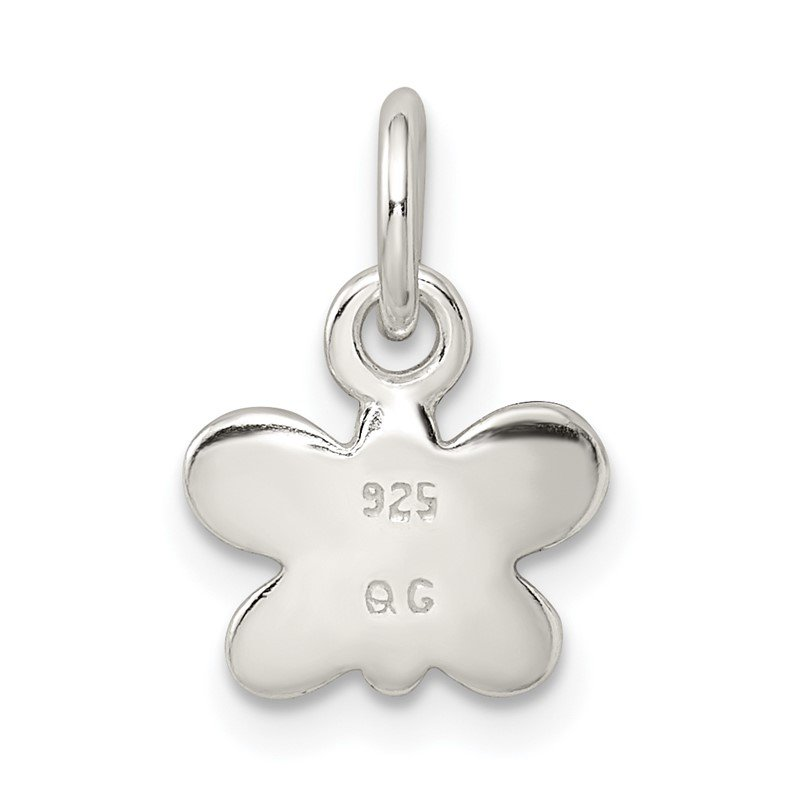 Quality Gold Sterling Silver Enamel Butterfly Charm