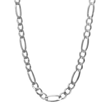 Silver 4.7mm Figaro Chain