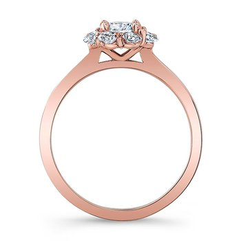 Rose Gold Bridal Set