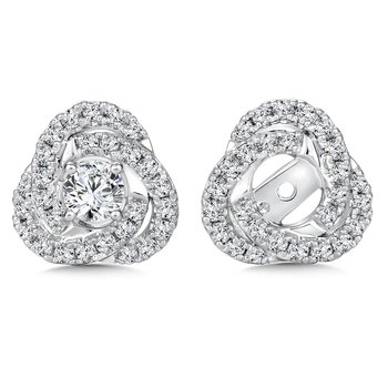 Diamond Earing Jacket ( .55 tw )