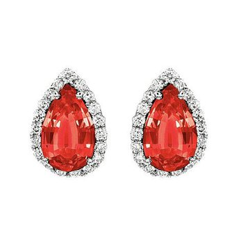 Ruby Earrings-CE2263WRU