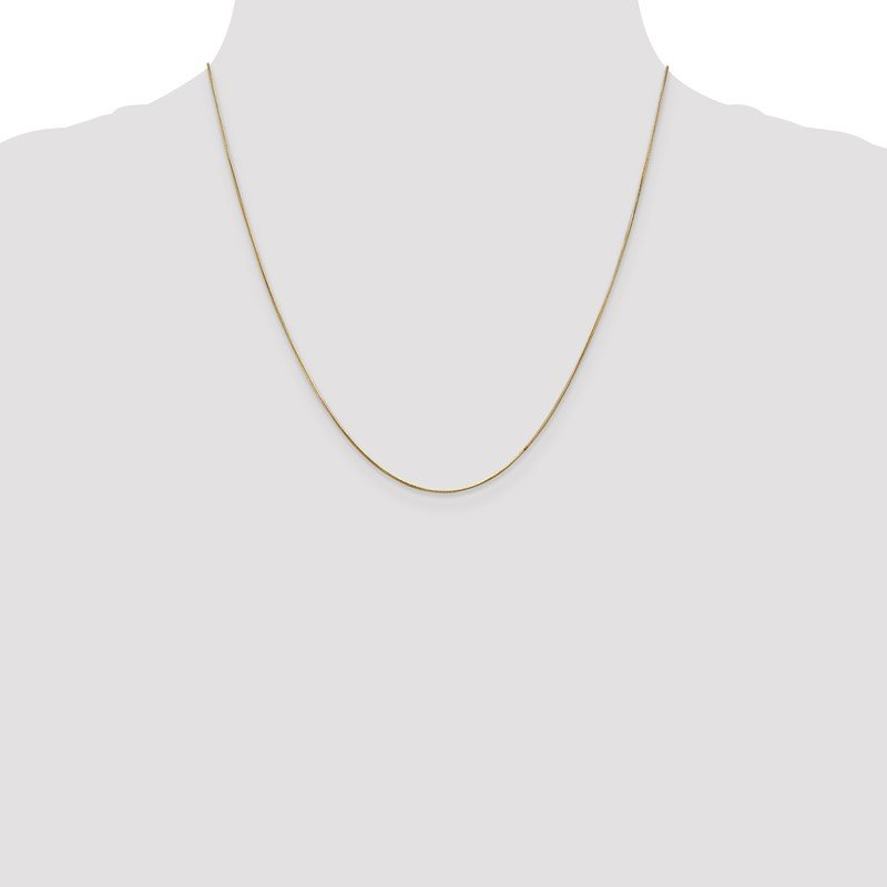 Quality Gold 14k .65mm Round Snake Chain