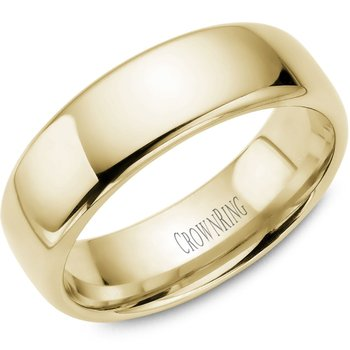 CrownRing Men's Wedding Band TDS14Y7