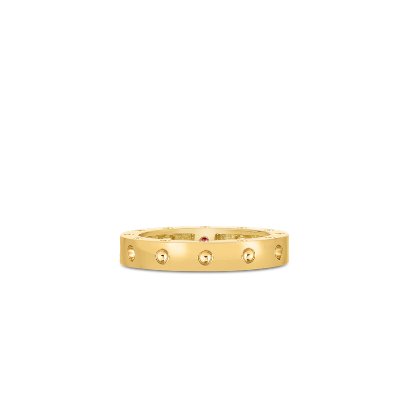 Roberto Coin Round Ring &Ndash; 18K Yellow Gold, 5.5