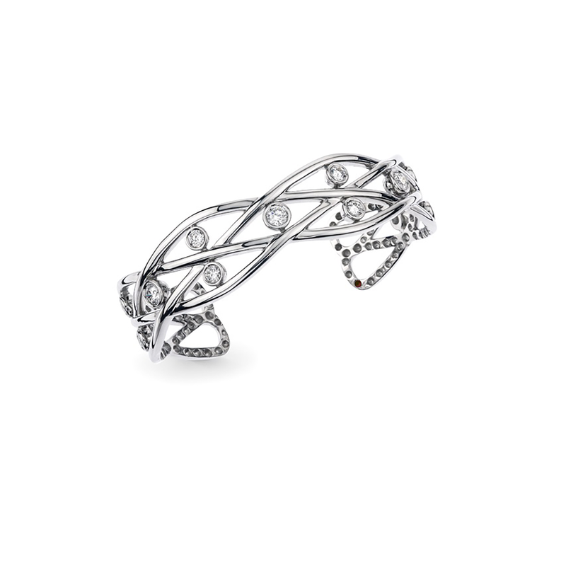 Roberto Coin Cento Baci Bangle Bracelet