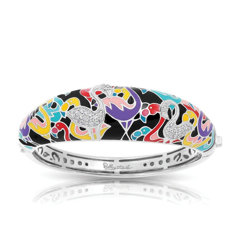 Belle Etoile Flamingo Bangle