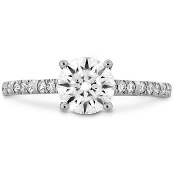0.18 ctw. Cali Chic Diamond Engagement Ring
