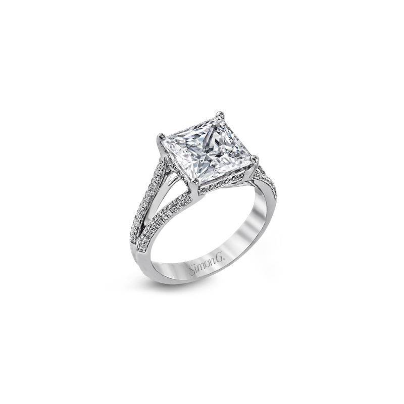 Simon G MR2257 ENGAGEMENT RING