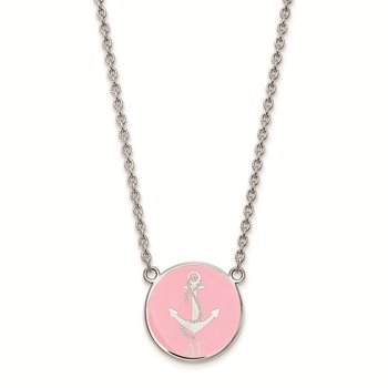 Sterling Silver Delta Gamma Greek Life Necklace