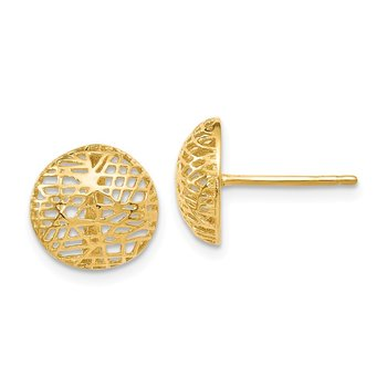 Leslie's 14K Textured Post Earrings