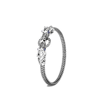 Legends Naga 5MM Bracelet in Silver, Gem