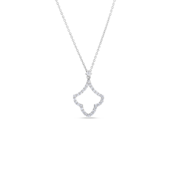 Art Deco Pendant With Diamonds