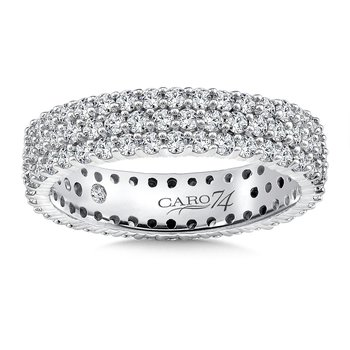 Eternity Band (Size 6.5) in 14K White Gold (1.58ct. tw.)