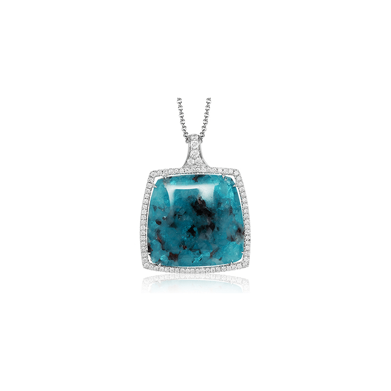 Simon G TP339 COLOR PENDANT