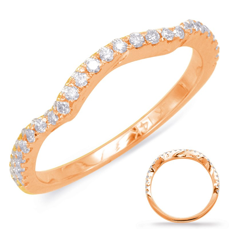 S. Kashi & Sons Bridal Rose Gold Wedding Ring