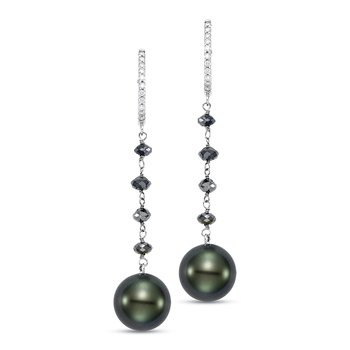 Ice Tahitian Pearl Dana Earrings