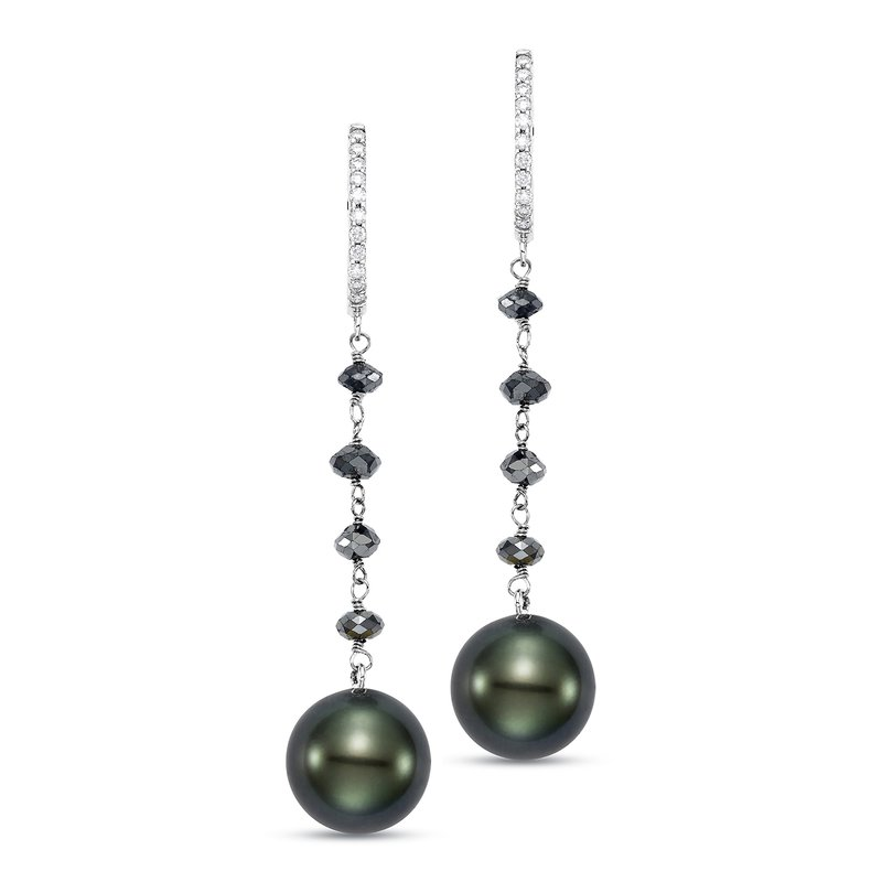 Mastoloni Pearls Ice Tahitian Pearl Dana Earrings