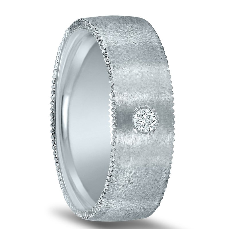 Men's 1/12 Carat Diamond Wedding Band ND16997  by Novell