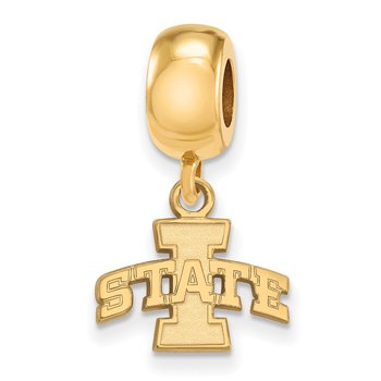 Gold-Plated Sterling Silver Iowa State University NCAA Bead