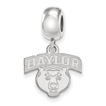 Sterling Silver Baylor University NCAA Bead