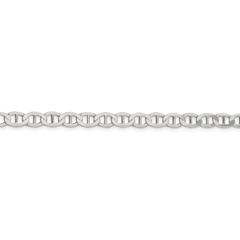 Fine Jewelry by JBD Sterling Silver 5.7mm Flat Anchor Chain
