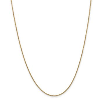 Leslie's 14K 1.6 mm Round Cable Chain