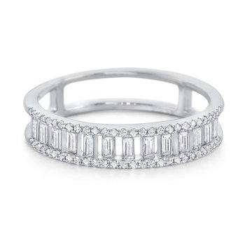 Diamond Metropolis Ring Set in 14 Kt. Gold