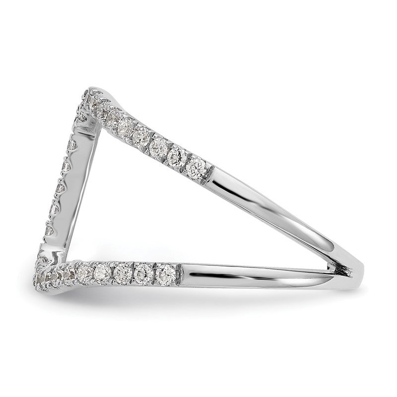 True Origin 14kw True Origin Lab Grown Diamond VS/SI, D E F, Geometric Fashion Ring