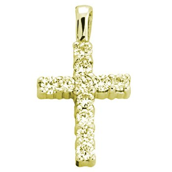Diamond Cross Shared Prong